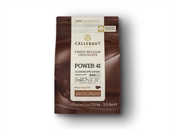 CIOCCOLATO AL LATTE 41% POWER KG 2,5