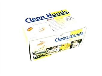 KIT GUANTO CLEANHANDS BASE CON PORTA CARTELLO