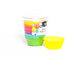 PIROTTINI TONDI PER MUFFIN MM 35 H 20,5 PZ 150 COLORATI