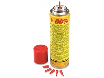 RICARICA GAS SPRAY PER CANNELLO GR 90 - ML 150
